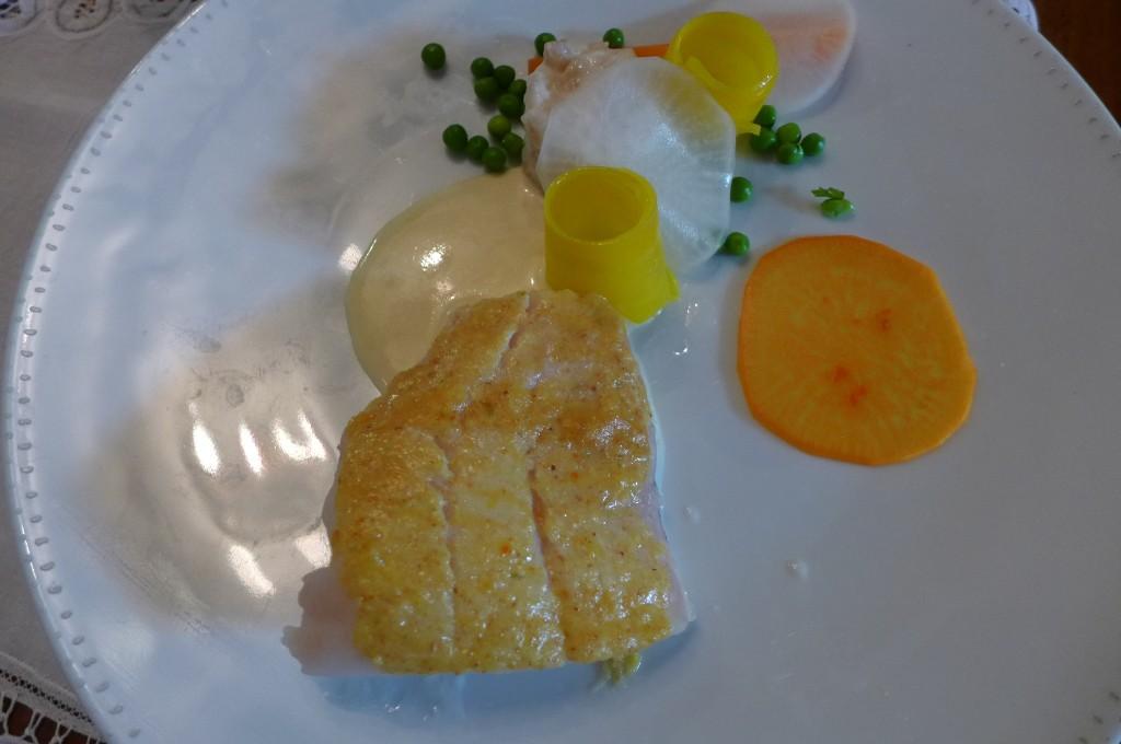 Cabillaud en croûte de citron © GP