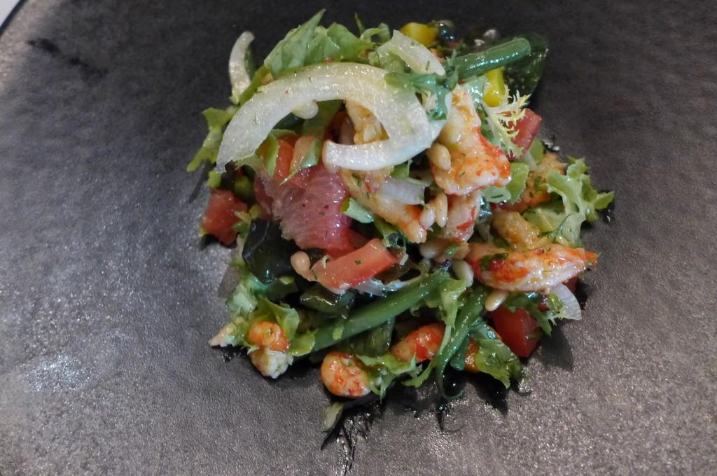 Salade d'écrevisses © GP