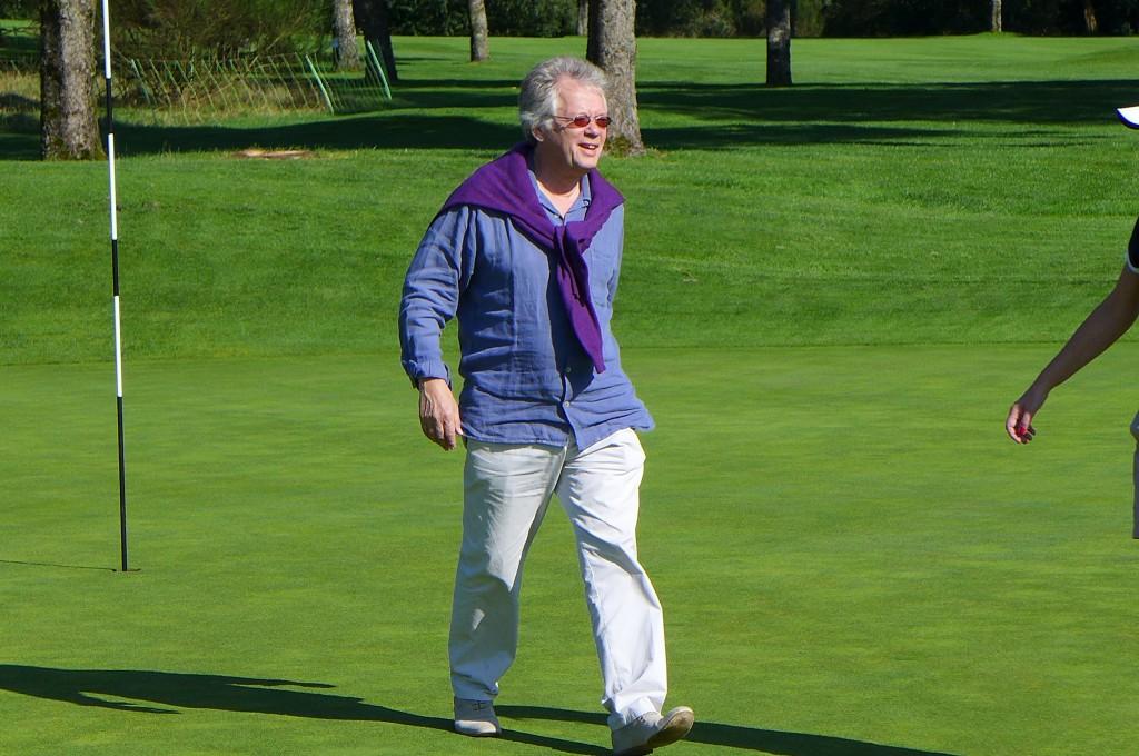 Au golf © GP