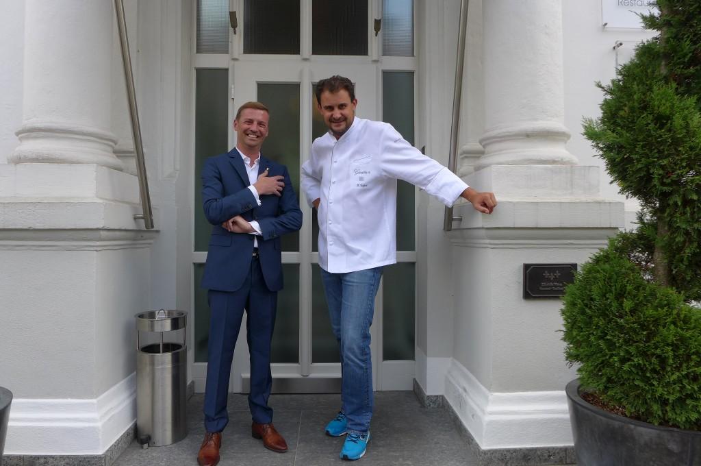 Jérôme Pourchère et Klaus Erfort © GP