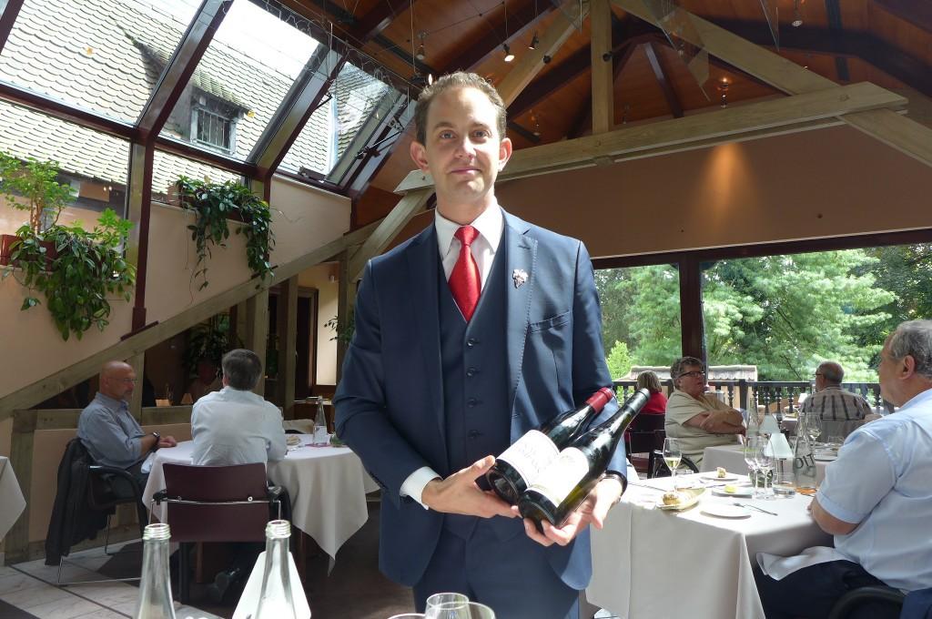 Antoine Haber et les vins © GP