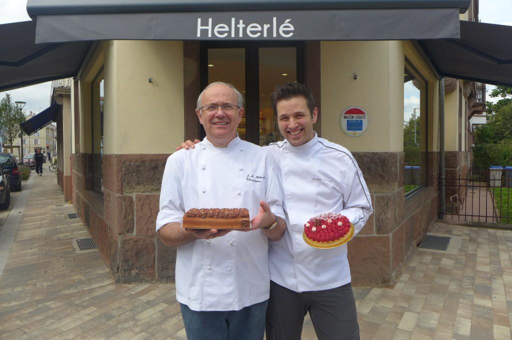 Jean-Michel et Thomas Helterlé © GP
