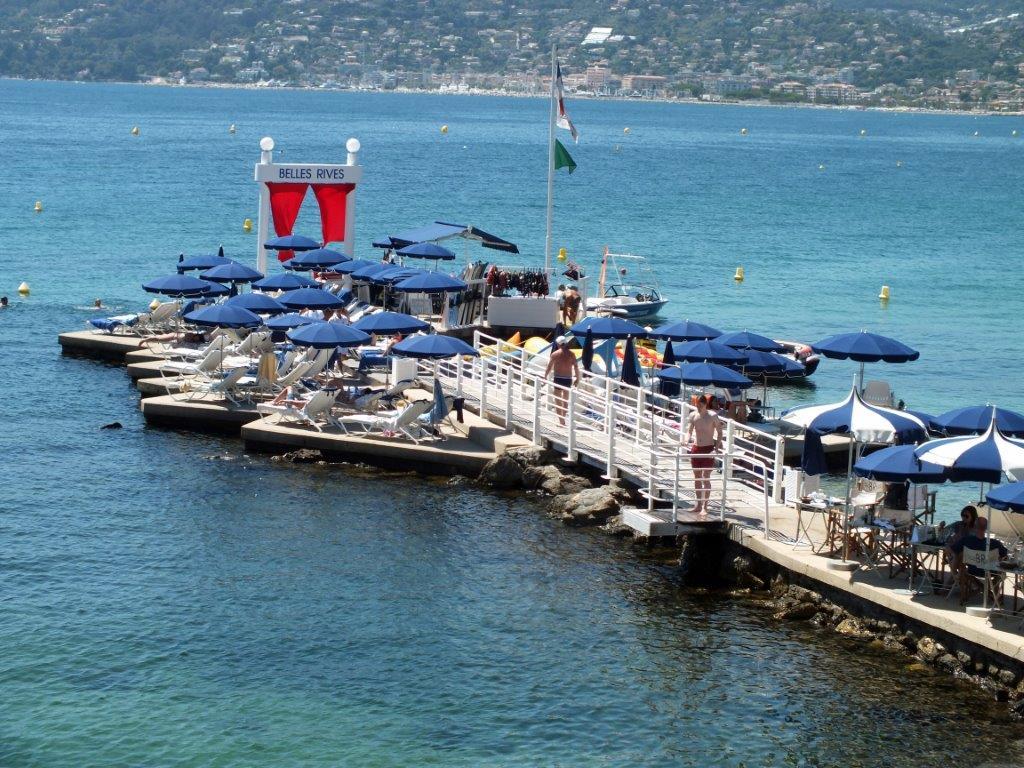 la plage belles rives l 39 h tel belles rives restaurant. Black Bedroom Furniture Sets. Home Design Ideas