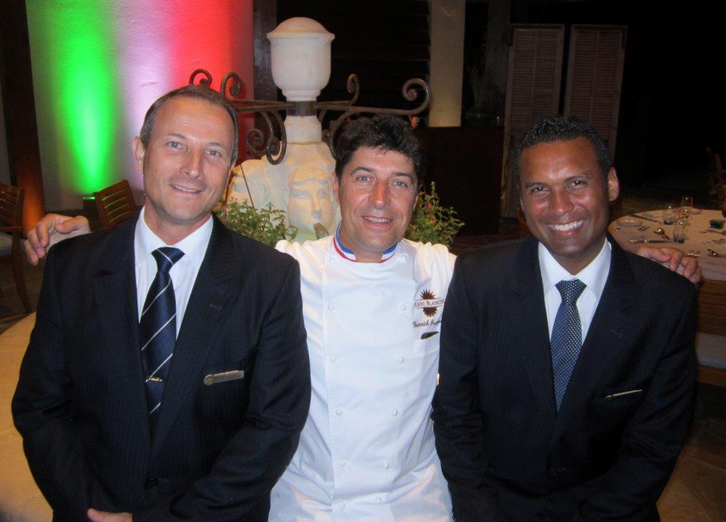 Olivier, Yannick et Christophe ©AA