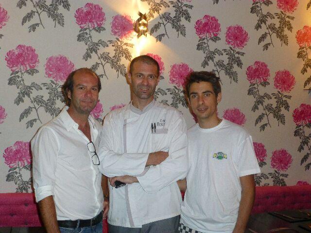 Andrea, Fabio et Stefano ©DC