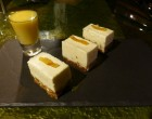 Cheesecake et pamplemousse ©DC