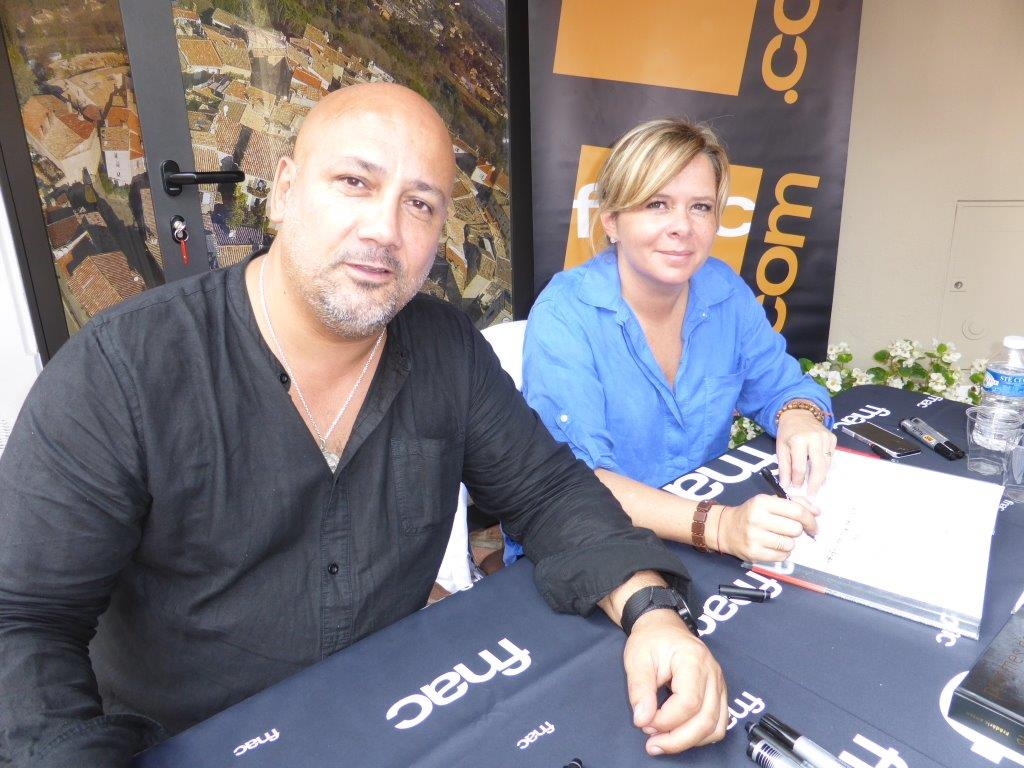 Frédéric Anton et Christelle Brua © AA