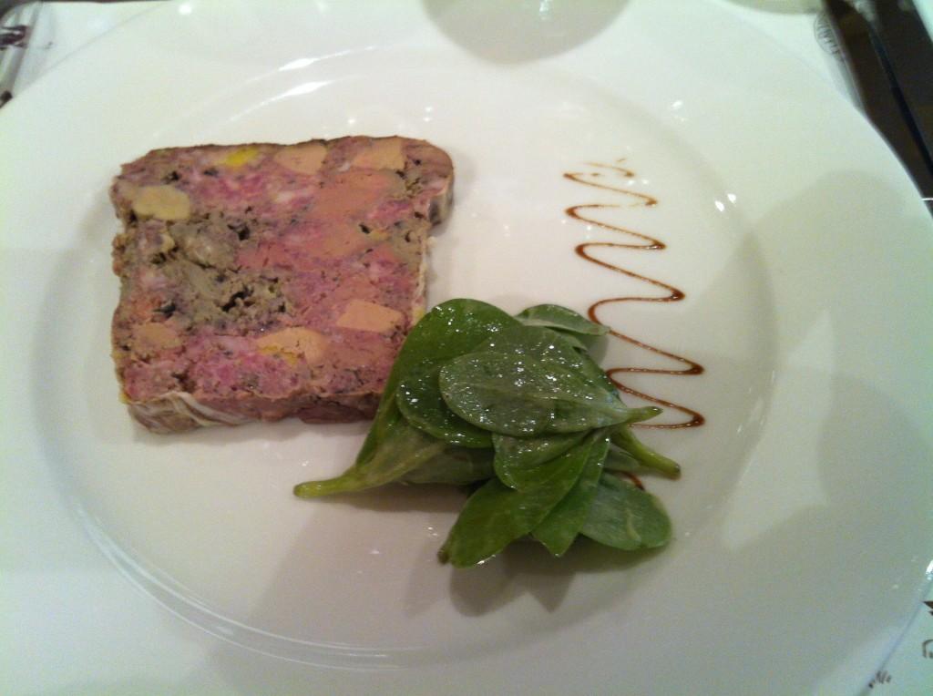 Terrine de foie de volaille au foie gras © AN