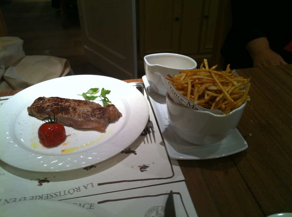 Filet de boeuf Hereford, frites © AN