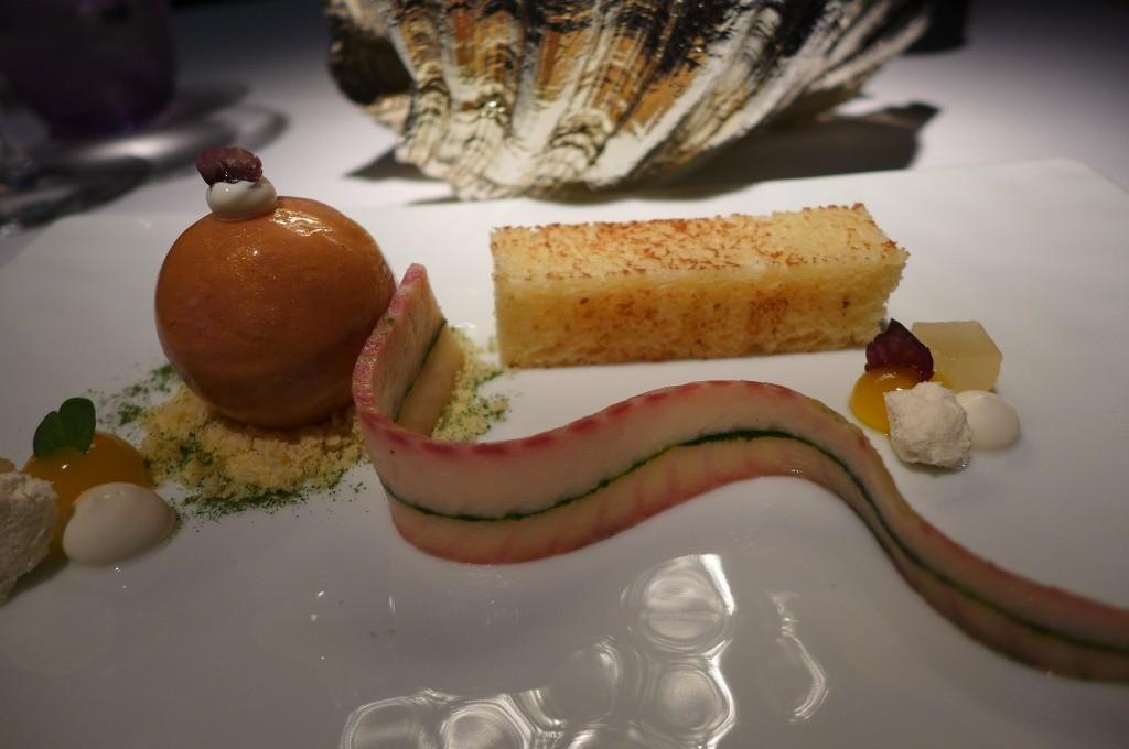 Foie gras et anguille © GP