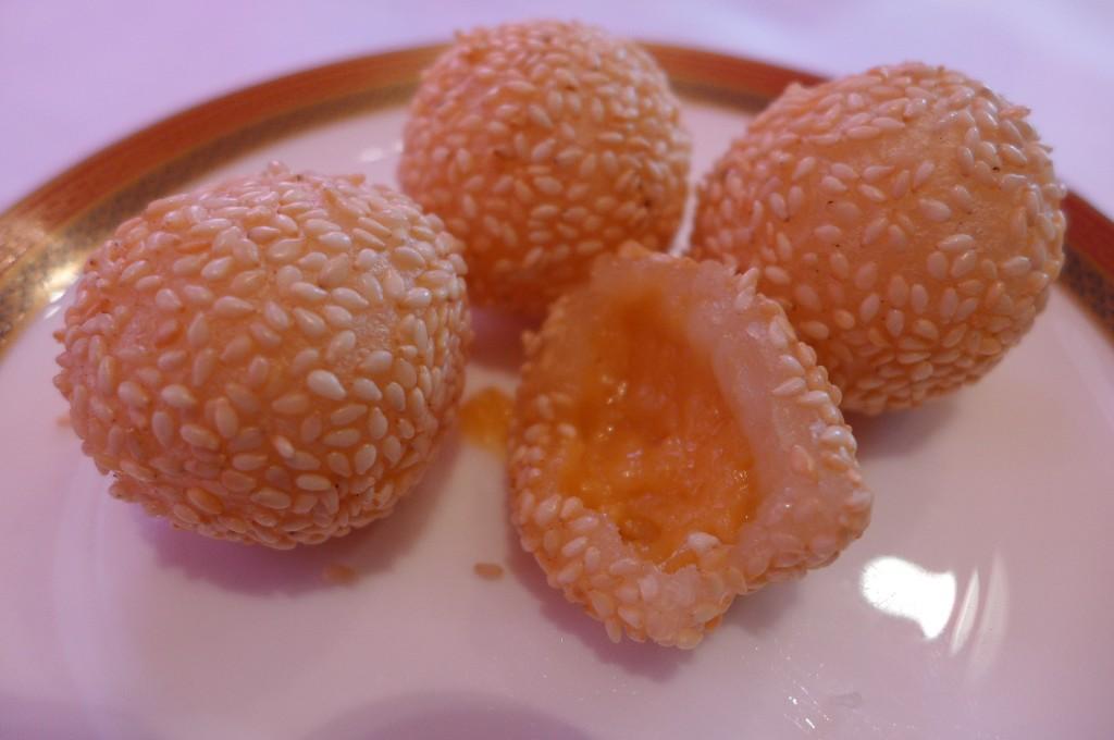 Croustillants de sésame à la crème © GP