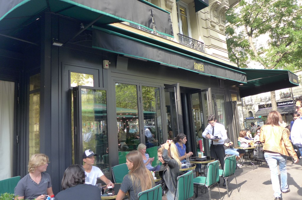 Restaurant Place Victor Hugo Paris