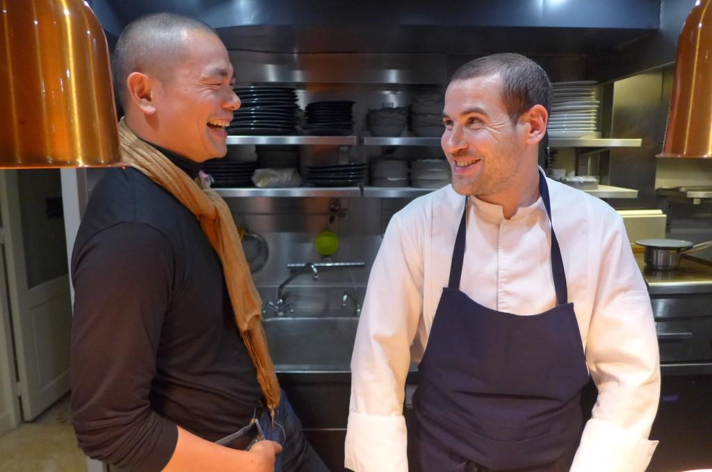 André Chiang et Vincent Crépel © GP