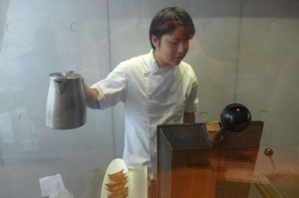 """Le """"cuisinier"""" © GP"""