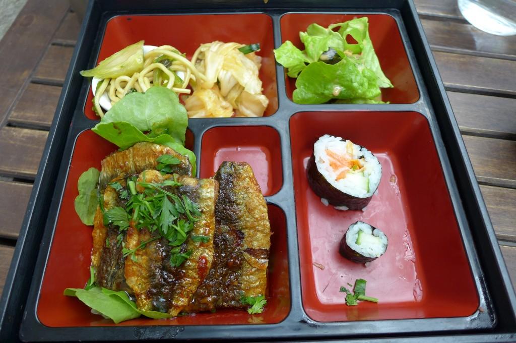 Bento de sardine grillée © GP