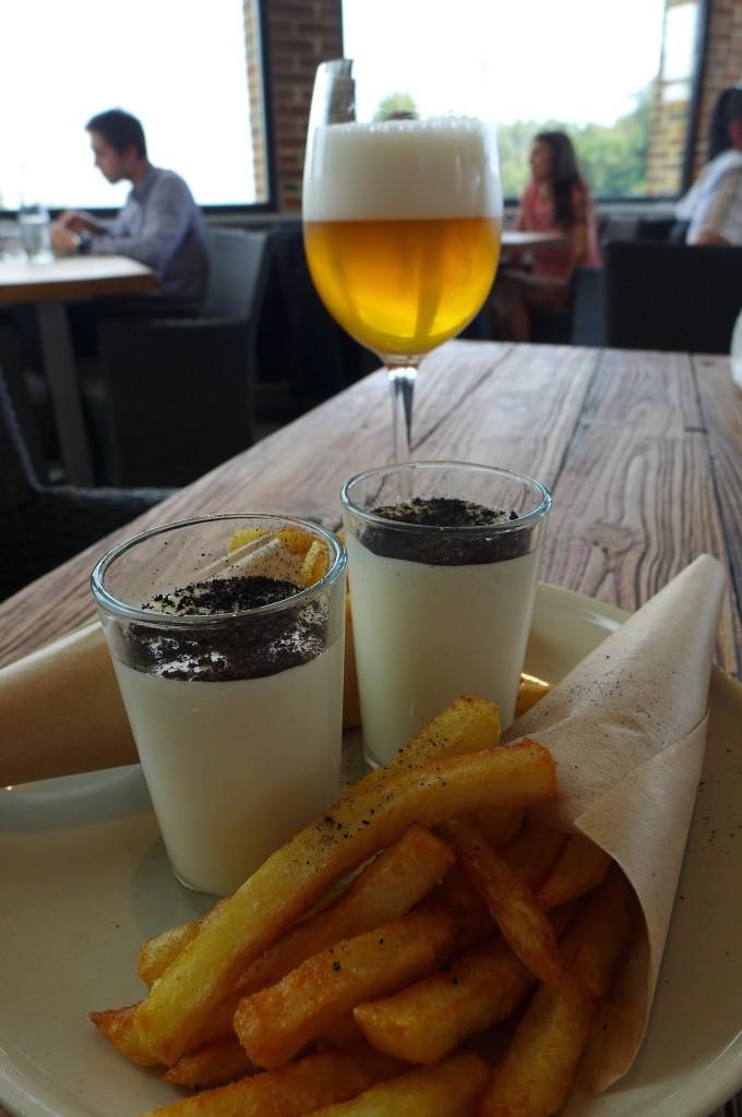 Bière, frites, maroilles © GP