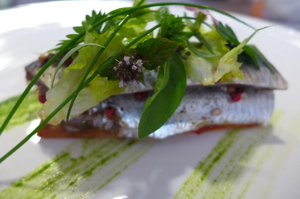 Tarte de sardines © GP