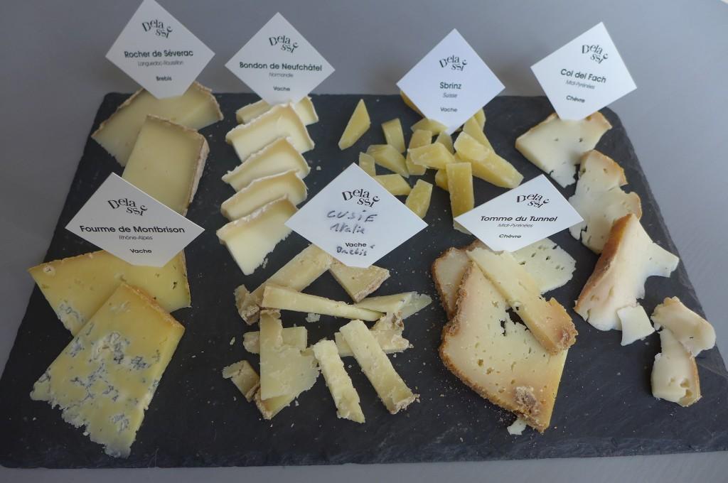 Ardoise des sept fromages © GP