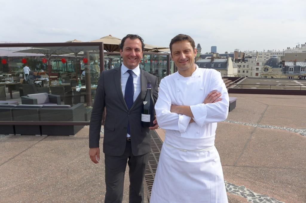 Nicolas Bourgeois et Frédéric Claudel © GP