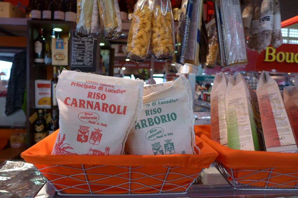 Riso Carnaroli et Arborio  © GP