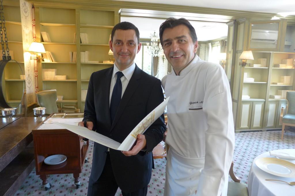 Frédéric Pedrono et Yannick Alléno © GP