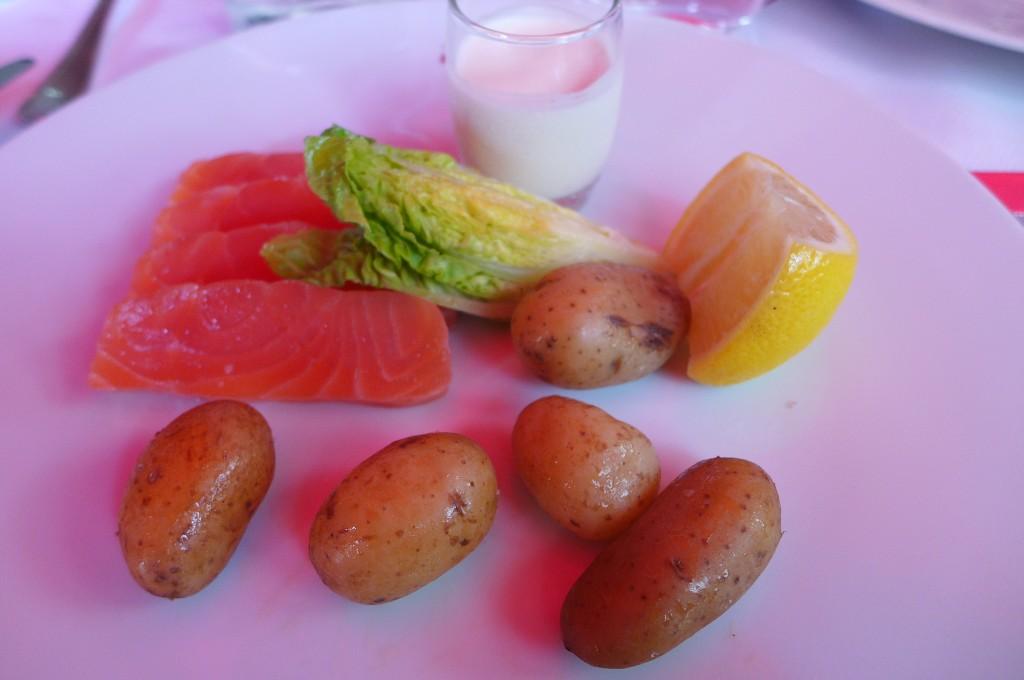 Coeur de saumon © GP