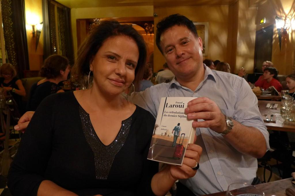 Fatéma Hal et Fouad Laroui © GP
