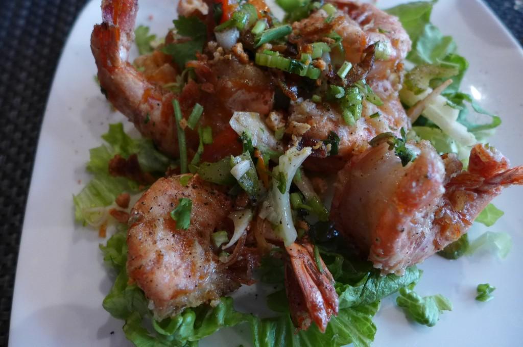 Crevettes croustillantes sel et poivre © GP