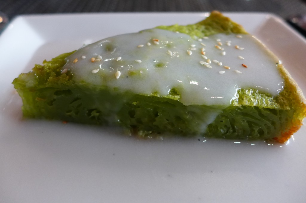 Gâteau au thé vert © GP