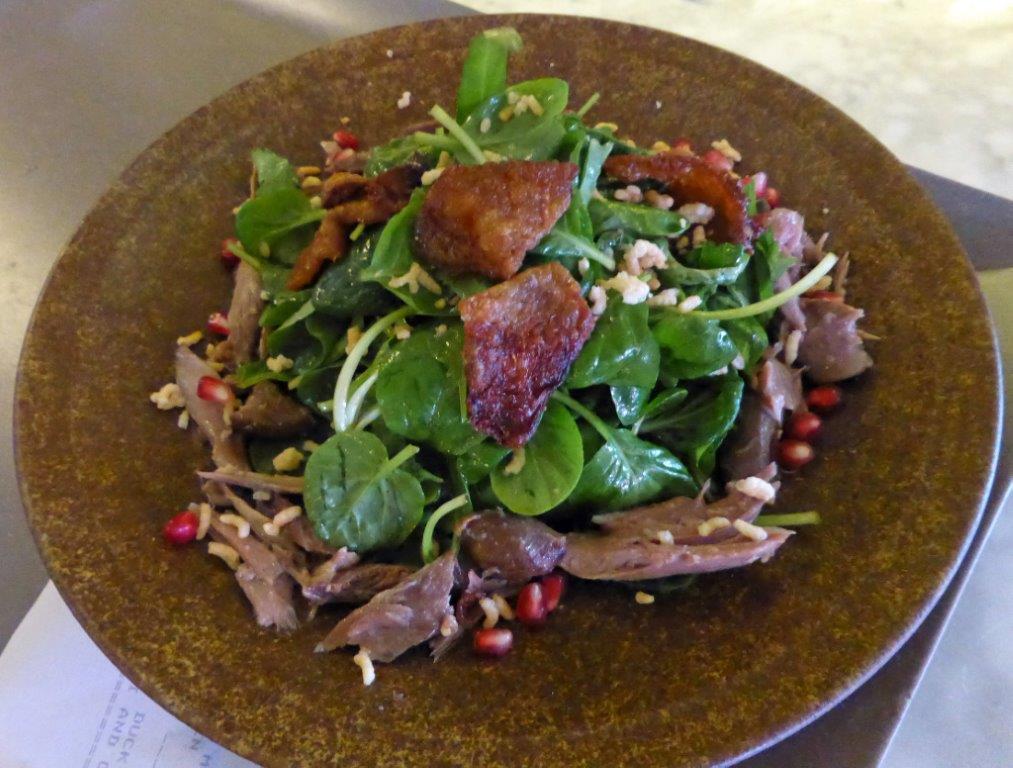 Salade de canard croustillant © AA