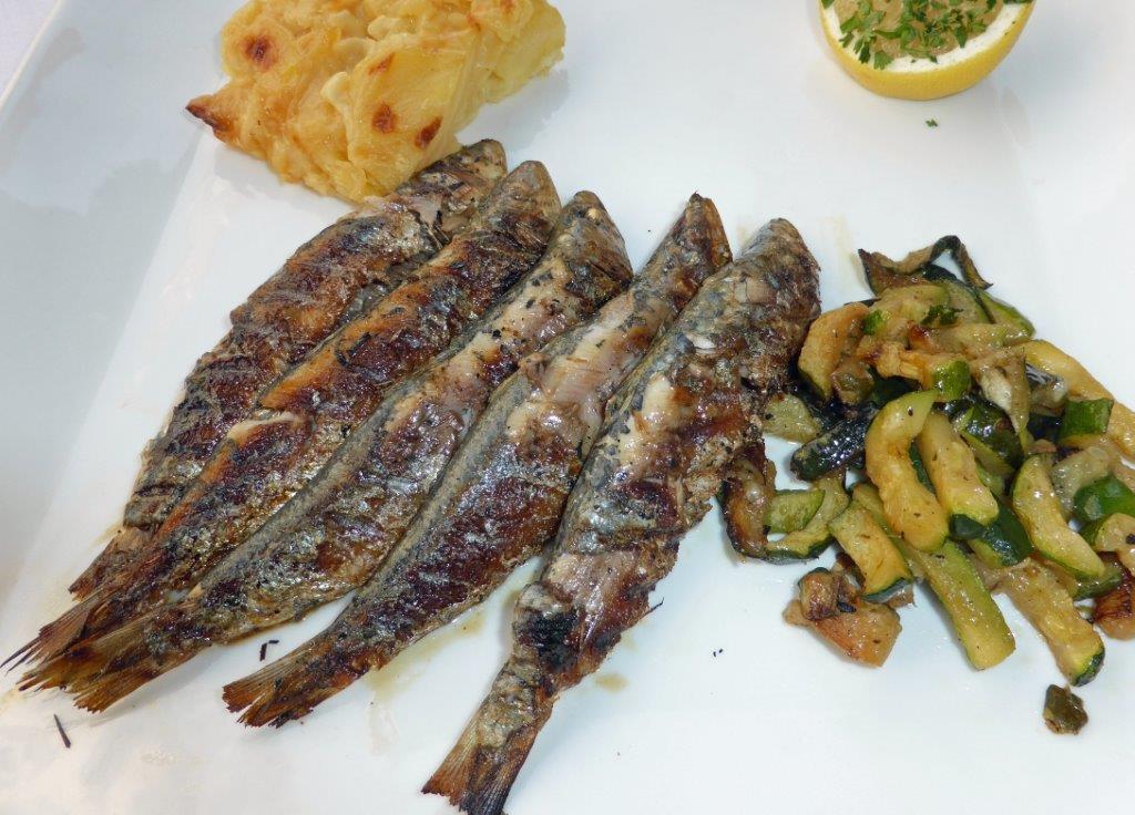 Sardines grillées © AA