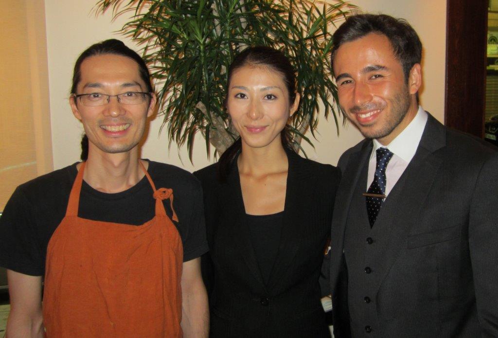 Tsumoru, Youko et Laurent © AA