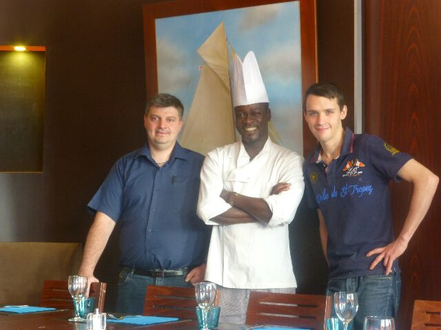 Bebe Ndiaye et son équipage ©DC
