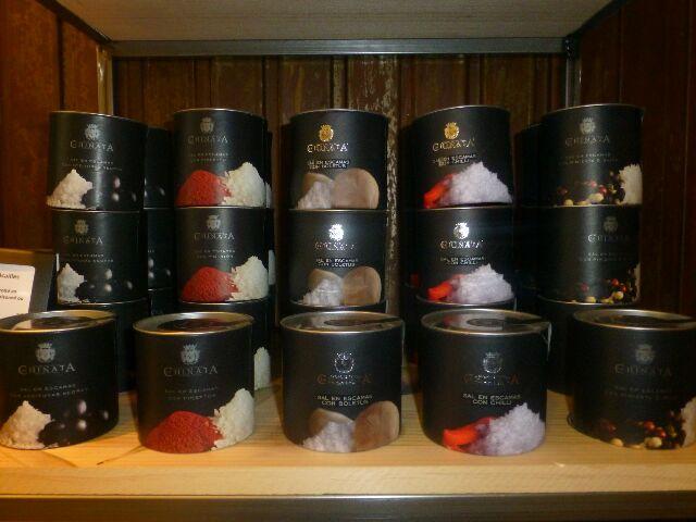 Ecailles de sel marin © DC