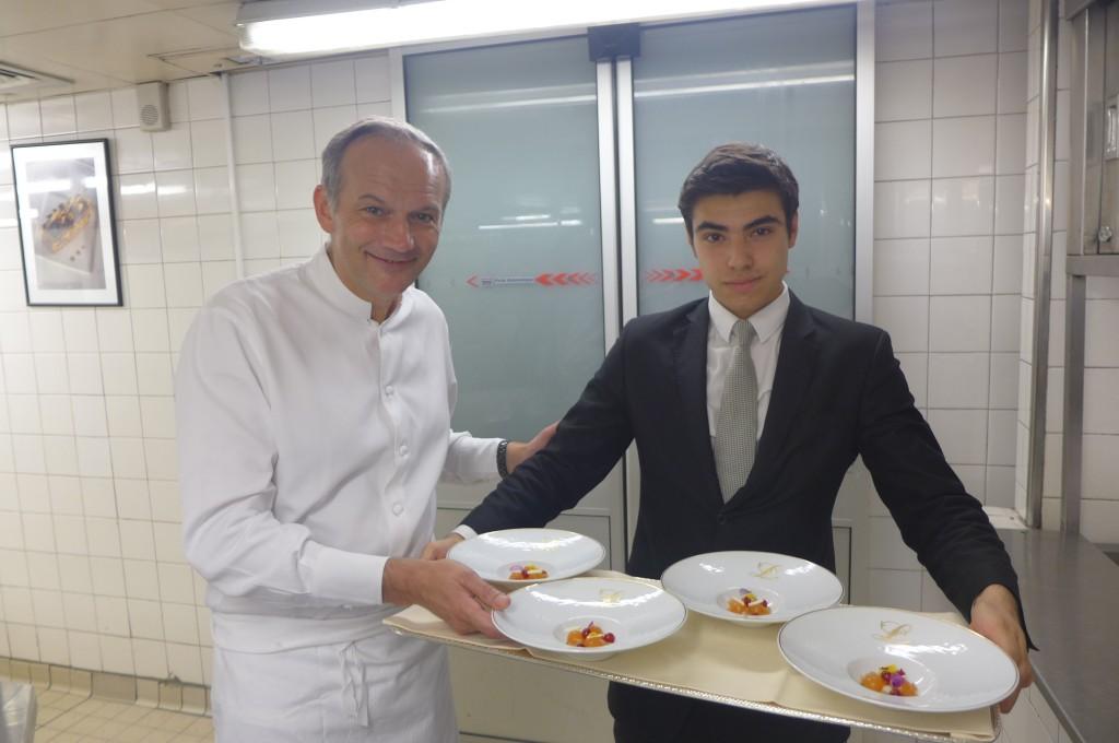Christian le Squer en cuisine © GP