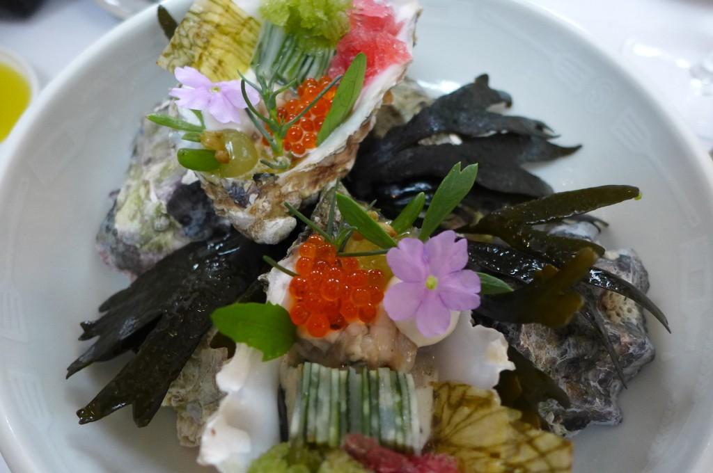 Huîtres Gillardeau et granité © GP
