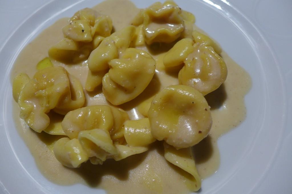 Fagottini et truffe blanche © GP