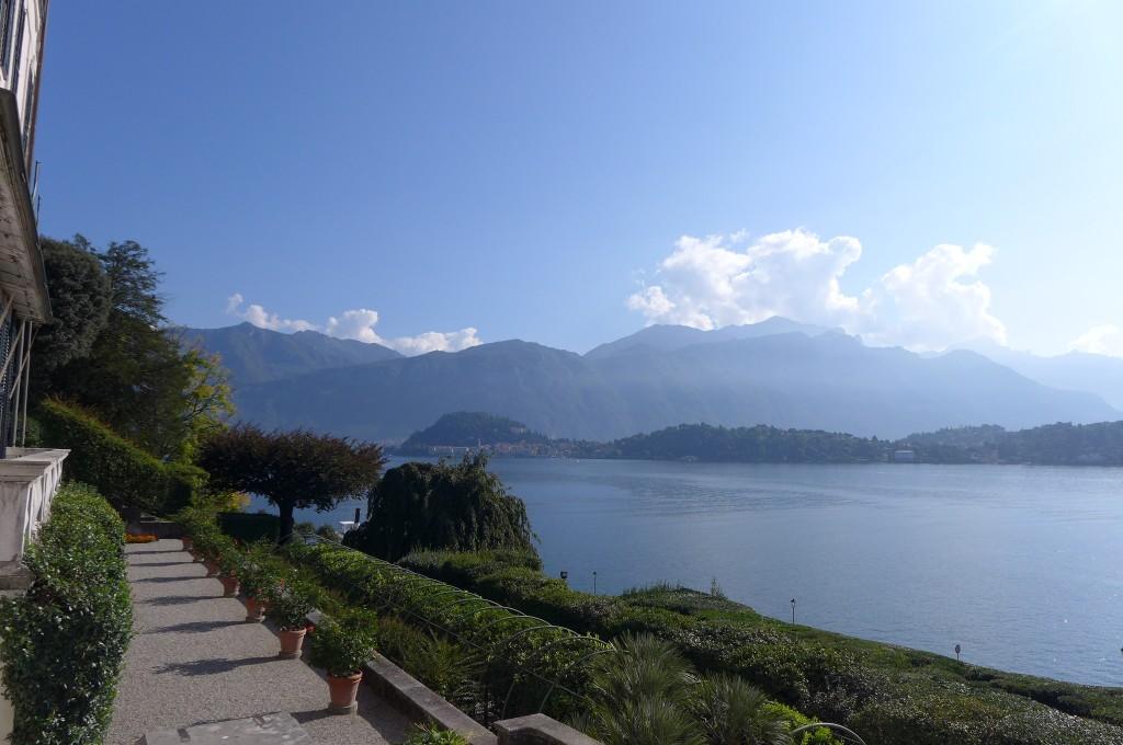 Vue de la Villa Carlotta © GP