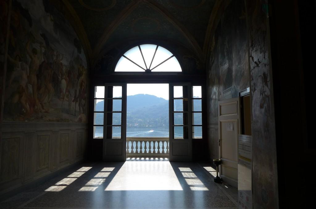 Vue de la Villa Carlotta ©GP