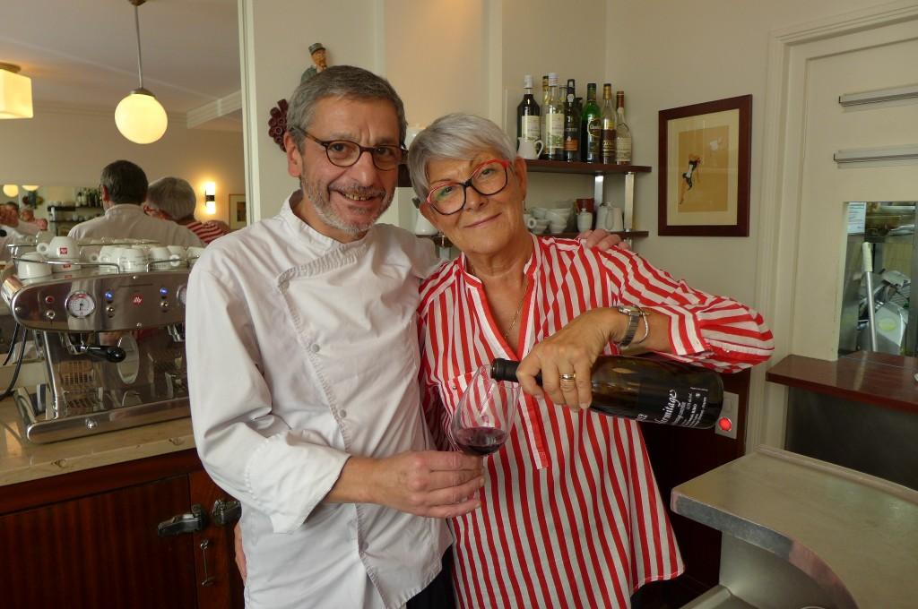 Thierry Coué et Denise Leguay © GP