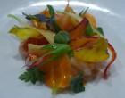 Carpaccio de maigre et carottes © GP