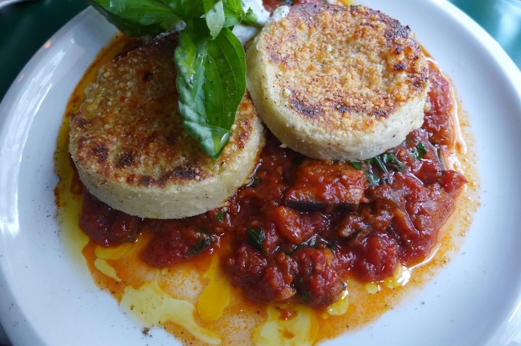 Gnocchi tomate et aubergine © GP