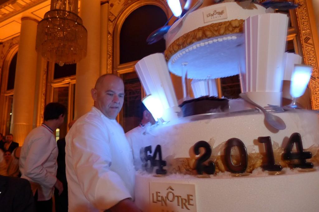 Christophe Moret au repas des Grandes Tables du Monde © GP