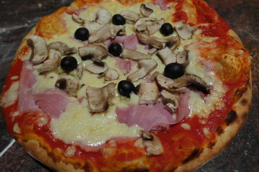 La pizza toscane © GP