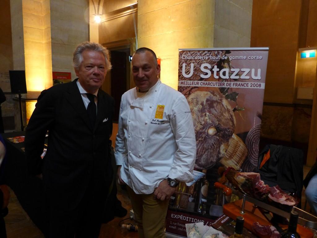 GP et Paul Marcaggi de U Stazzu à Ajaccio © GP