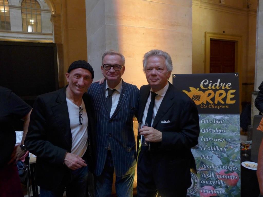 Avec JF Derec et JL Petitrenaud © GP