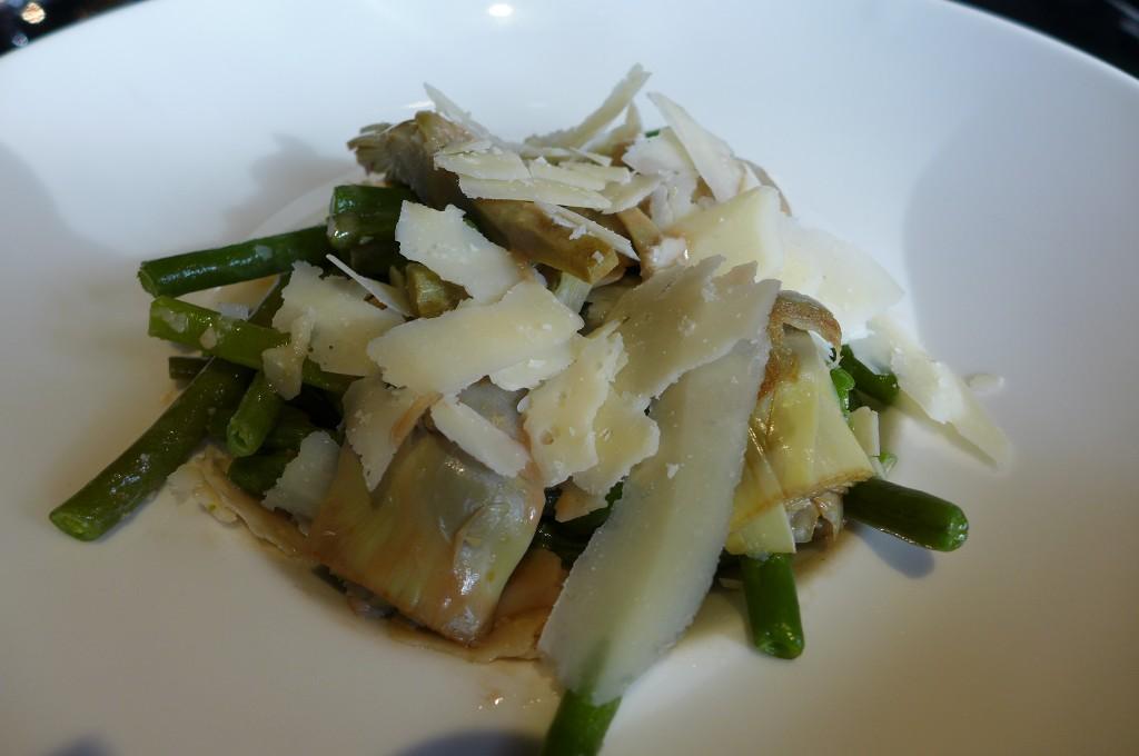 Salade d'artichaut © GP