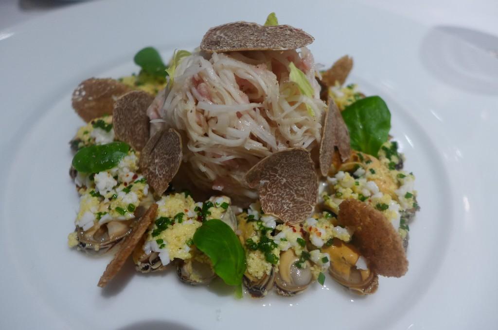 Rémoulade de céleri à la truffe blanche © GP