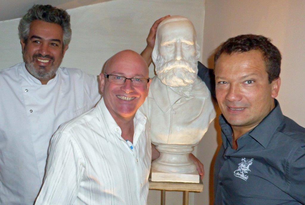 Le chef, Bernard et Stephane © AA