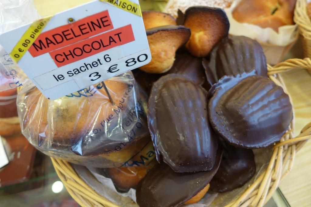 Madeleine au chocolat ©GP